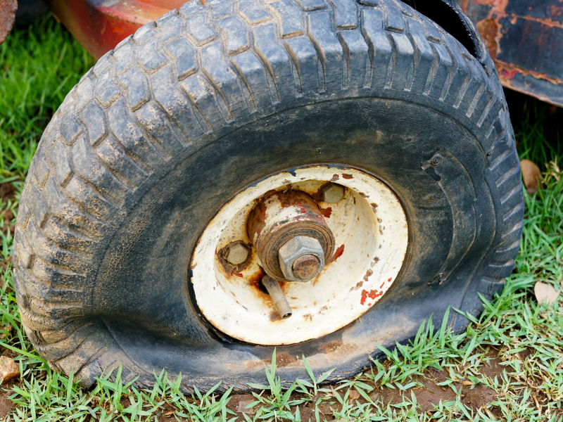 How to Remove Rust From Steel Wheels - Rusted
