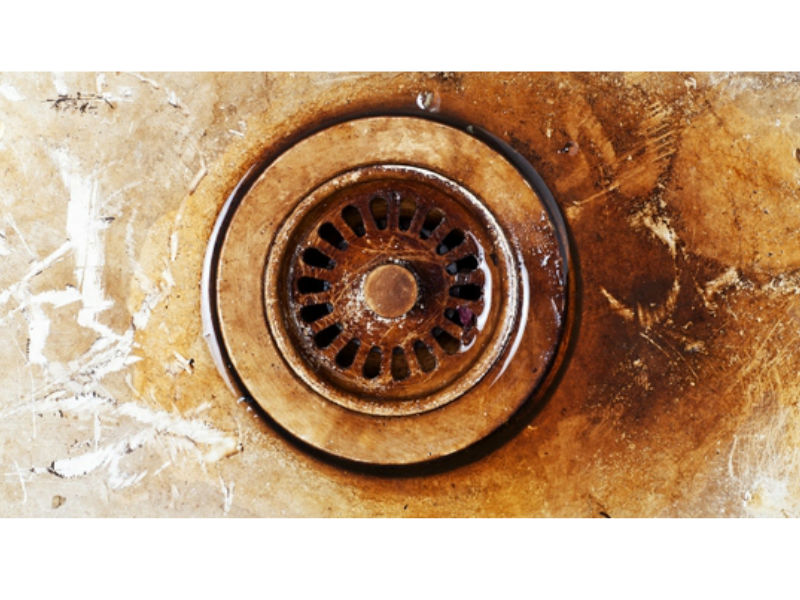 How to Remove Rust From a Bathtub - Rusty-Drain.jpg